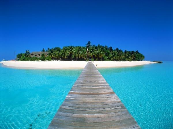 фото остров красивый