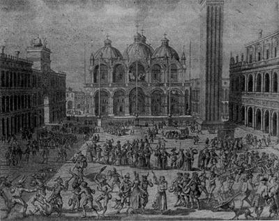 Карнавал в Венеции, история